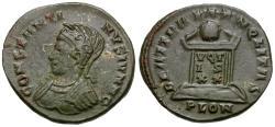 Ancient Coins - Constantine II, as Caesar (AD 316-337) Æ3 / Altar