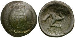 Ancient Coins - Pisidia. Selge Æ18 / Triskeles