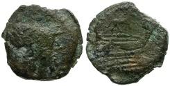 Ancient Coins - 169-158 BC - Roman Republic. Anonymous Æ Triens / Ass