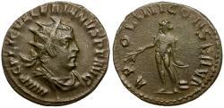 Ancient Coins - Valerian I AR Antoninianus / Apollo