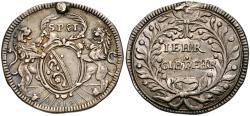World Coins - Switzerland. Kanton. Zürich – 'Schulprämie' By H. J. Bullinger AR Medal