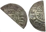 World Coins - Great Britain. Plantagenet Dynasty. Henry III (1216-1272) AR Penny. Class 5b2 / Cut for Change