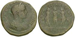 Ancient Coins - Caracalla (AD 198-217). Thrace. Serdica Æ Tetrassarion / Three Graces