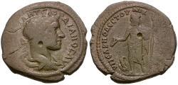 Ancient Coins - Gordian III (AD 238-244). Moesia Inferior. Nikopolis ad Istrum. Sabinius Modestus, legatus consularis Æ28 / Zeus