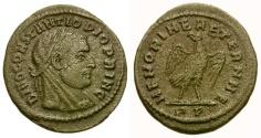 Ancient Coins - Divo Maximianus Commemorative Æ 1/4 Follis / Eagle