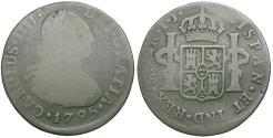 World Coins - Peru. Charles IV (1788-1808) AR 2 Reales