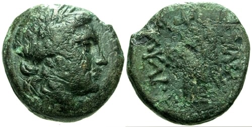 Ancient Coins - gF/aF Kings of Thrace Kavaros / Nike