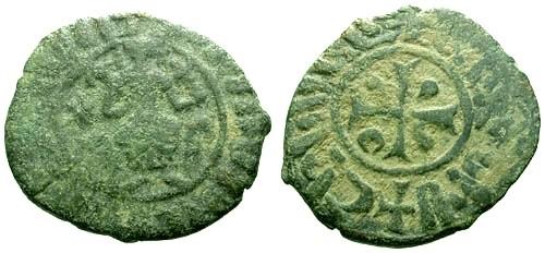 Ancient Coins - F/F Cilician Armenia Hetoum I The Great AE Half Tank