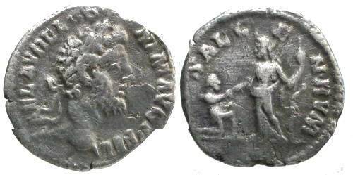 Ancient Coins - aVF/F+ Commodus Denarius / Rare