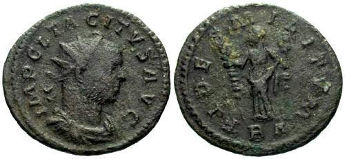 Ancient Coins - F/F Tacitus Antoninianus / Fides