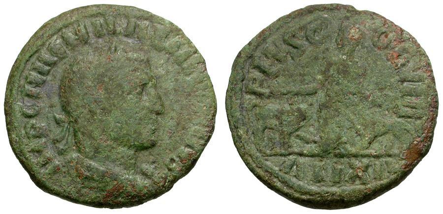 Ancient Coins - Aemilian. Moesia Superior. Viminacium Æ25 / Moesia