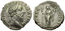 Ancient Coins - Marcus Aurelius.  AR Denarius / Felicitas