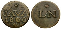 World Coins - Dutch East Indies. Java Æ Duit