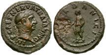 Ancient Coins - Trajan. Dardanian Mines Issue Æ Quadrans / Pax