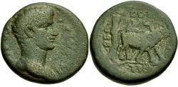 Ancient Coins - Divus Augustus (Died AD 14). Phoenicia. Berytus Æ23