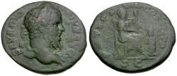 Ancient Coins - Septimius Severus (AD 193-211). Æ As