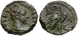 Ancient Coins - Claudius II Gothicus. Egypt. Alexandria Æ Tetradrachm / Eagle