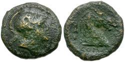 Ancient Coins - 241-235 BC - Roman Republic. Anonymous Æ Litra / Horse Head