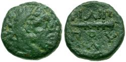 Ancient Coins - Kings of Macedon. Philip II Æ 1/4 Unit / Club