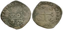 World Coins - France. Henri IV (1589-1610). AR Douzain du Dauphin
