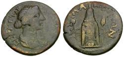 Ancient Coins - Lucilla (AD 164-169). Lydia. Silandos Æ24 / Kore