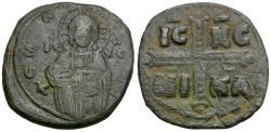 Ancient Coins - *Sear 1825* Byzantine Empire. Anonymous. Class C Æ Follis