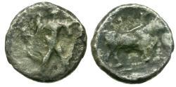 Ancient Coins - Lucania. Poseidonia AR 1/6 Stater / Bull