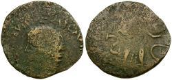Ancient Coins - Claudius. Imitative Æ24 / Minerva
