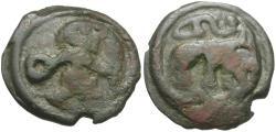 Ancient Coins - Ancient France. Celtic Gaul. Remi Potin / Bear