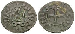 World Coins - France. Louis IX (1226-1270) AR Denier
