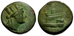 Ancient Coins - VF/aVF Phoenicia, Gabala Æ18 / ΓB Monogram RRR