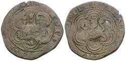 World Coins - Spain. Ferdinand and Isabella (1469-1504) Æ 4 Maravedis
