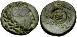 Ancient Coins - Mysia. Pergamon Æ20 / Owl countermark