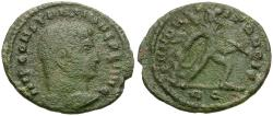 Ancient Coins - Constantine I the Great (AD 306-337) AE Half Follis / Founder of Peace