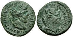 Ancient Coins - Caracalla (AD 198-217). Mesopotamia. Carrhae Æ14