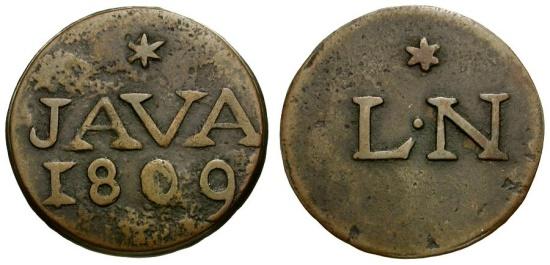Ancient Coins - Dutch East Indies. Java Æ Duit
