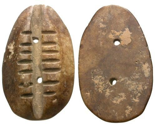 Ancient Coins - VF/VF Ancient China Large Cowrie Imitation
