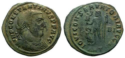 Ancient Coins - F+/F Constantine the Great / IOVI R5