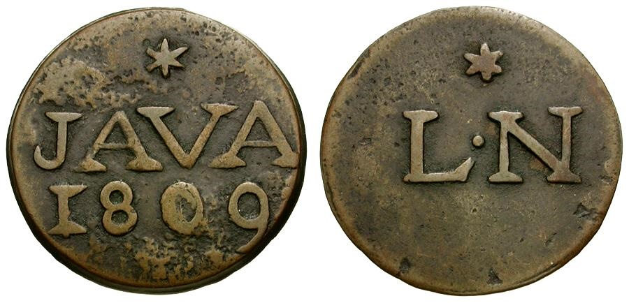 Ancient Coins - Dutch East Indies. Java Æ Duit