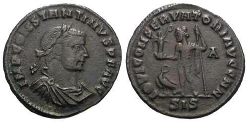 Ancient Coins - aVF/aVF Constantine the Great / Jupiter