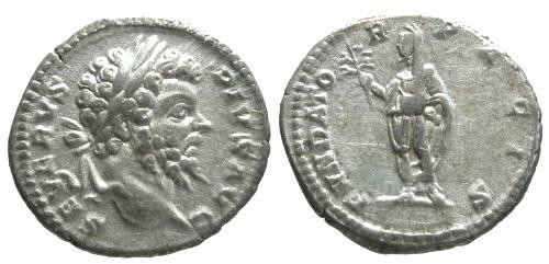 Ancient Coins - VF/VF Septimius Severus AR Denarius / Severus