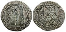 World Coins - Spain. Fernando and Isabel (Ferdinand and Isabella) AR Reale