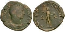 Ancient Coins - Severus Alexander Æ Sestertius / Sol