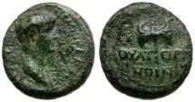 Ancient Coins - Nero. Lydia. Thyateira Æ16 / Double Axe