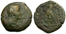 Ancient Coins - Ptolemaic Kings of Egypt. Ptolemy III Euergetes Æ Hemiobol / Portrait