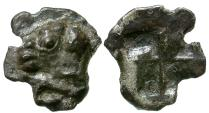 Ancient Coins - Troas. Kebren AR Obol / Ram's Head