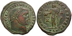 Ancient Coins - Maximinus II as Augustus Æ Follis / Bono