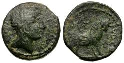 Ancient Coins - Spain. Castulo Æ23 / Bull