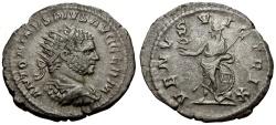 Ancient Coins - Caracalla AR Antoninianus / Venus