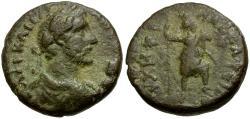 Ancient Coins - Antoninus Pius. Arabia. Philadelphia Æ19 / Tyche